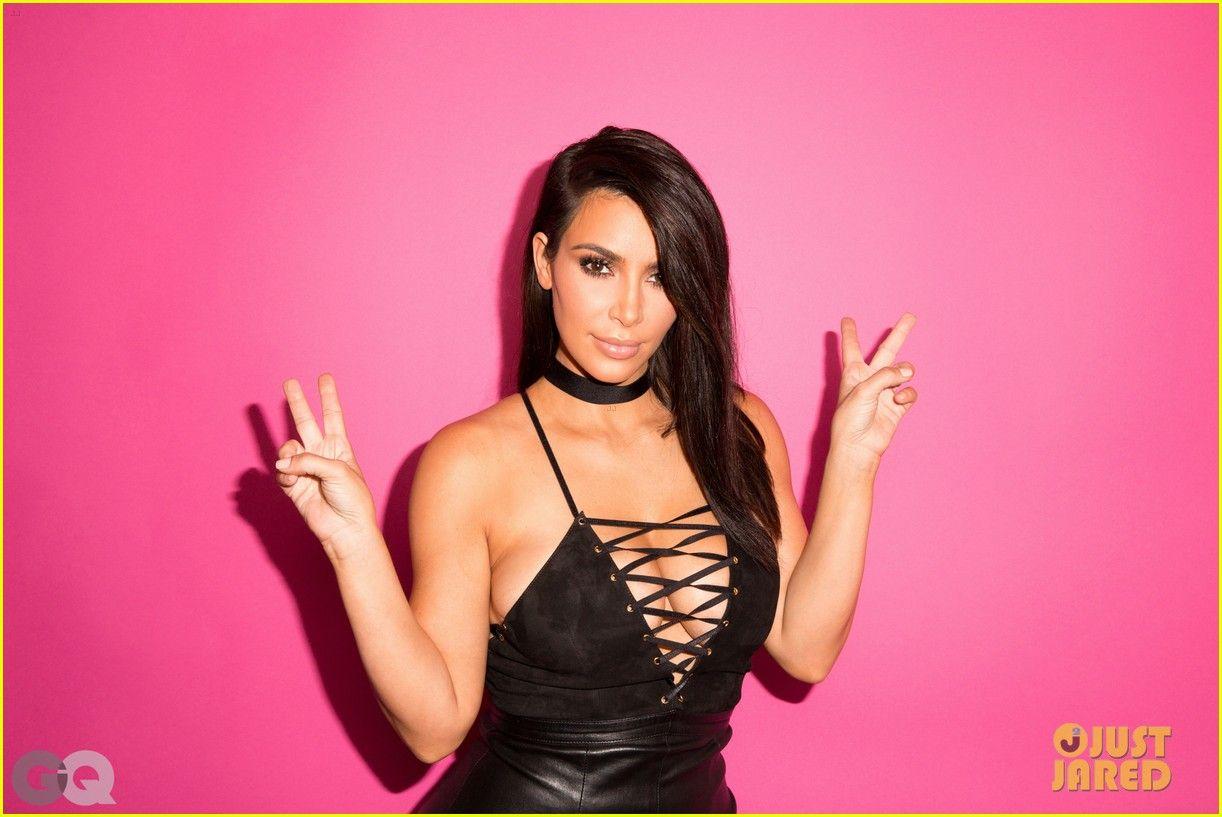 Kim Kardashian Celebrates Her \'GQ\' Cover in Super Sexy Dress! | kim ...