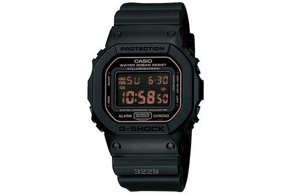 606f1b6b9a816 Casio G-Shock DW-5600MS-1DR. G-Shock Men s Digital Black Resin Strap Watch  ...