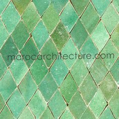 Green Moroccan Tile Google Search