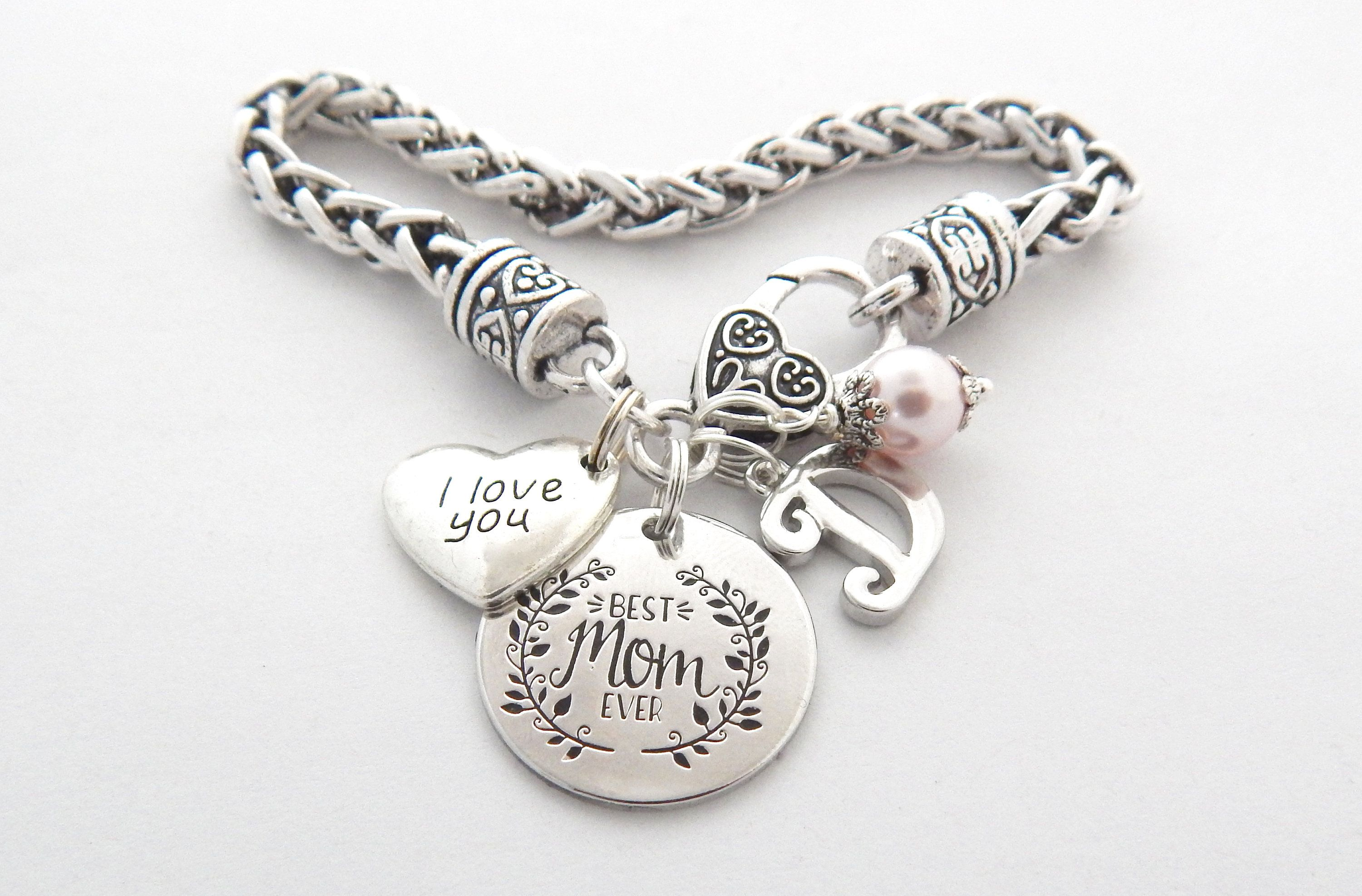 hand silver pin bracelet pinterest you love pendant s day more jewelry gift mother stamped