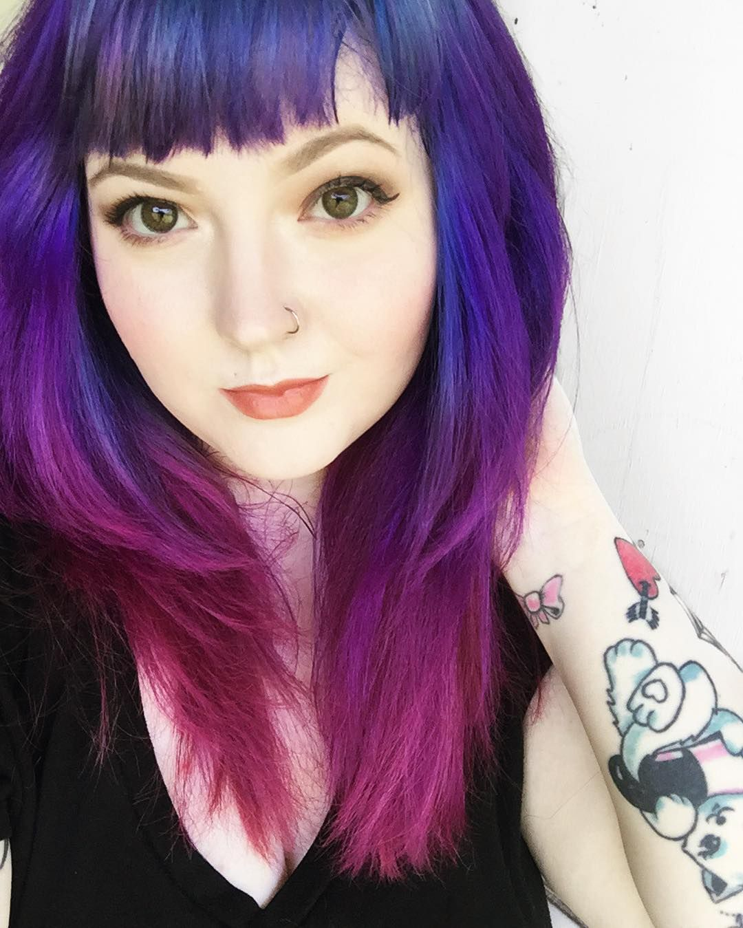 Blue, Purple and Pink hair using Arctic Fox! | Hair ...