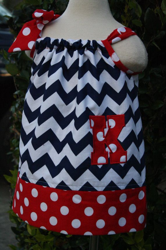 Personalized Pillowcase Dress. Size 0-12 mths- size 8 available. on Etsy, $26.50