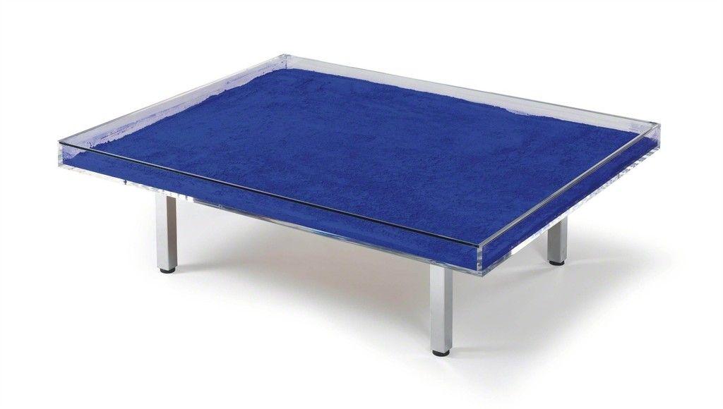 Blue Table | Yves Klein, Blue Table (1963)