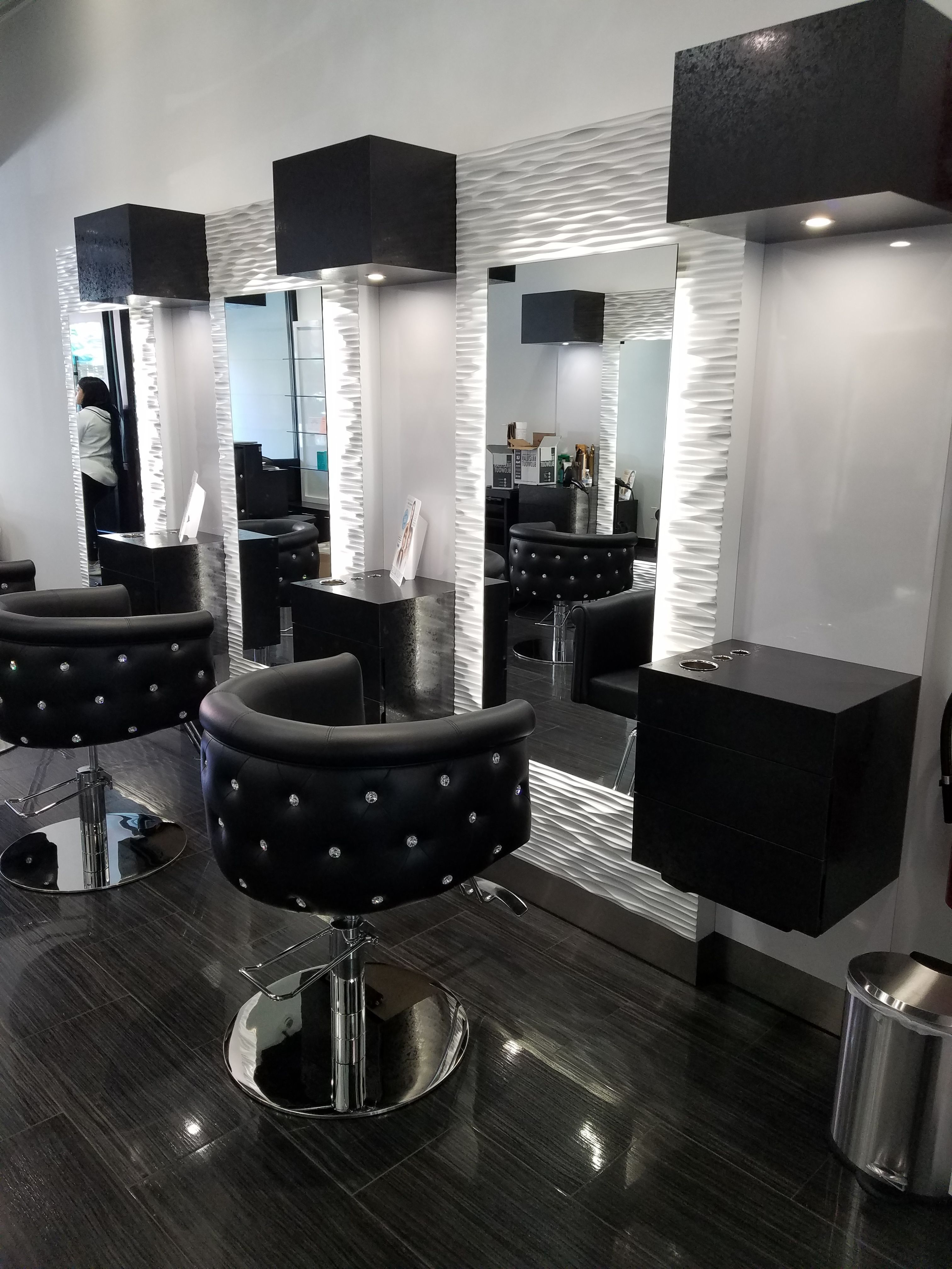 Canella Beauty Lounge Jackson Heights Ny Makeupsalonequipment Salon Furniture Salon Interior Design Salon Suites Decor