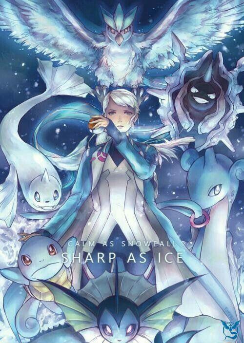 5de8fca4 Calm as Snowfall, Sharp as Ice, text, Team Mystic, Articuno, Water Pokémon,  Trainer, Pokeball, Pokémon Go; Pokémon