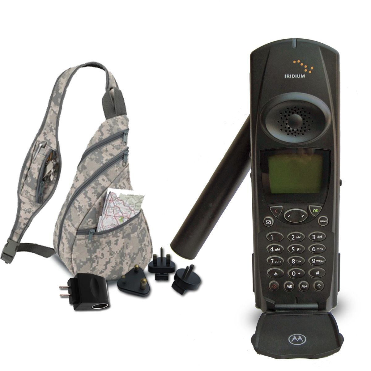 Iridium Motorola 9500 Satellite Phone w/BackpackUsed