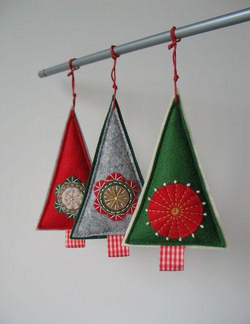 Vánoční dekorace- 3 kusy