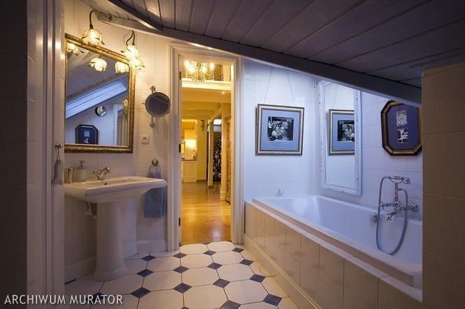 Łazienka na poddaszu