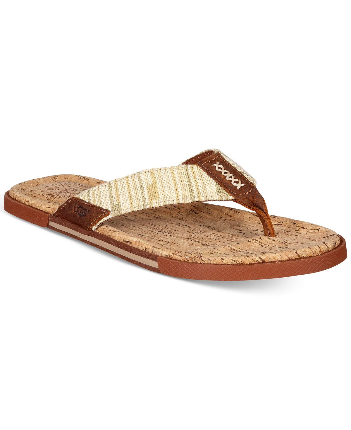 c1beac869a6863 UGG® Men s Braven Diego Flip-Flops - All Men s Shoes - Men - Macy s ...