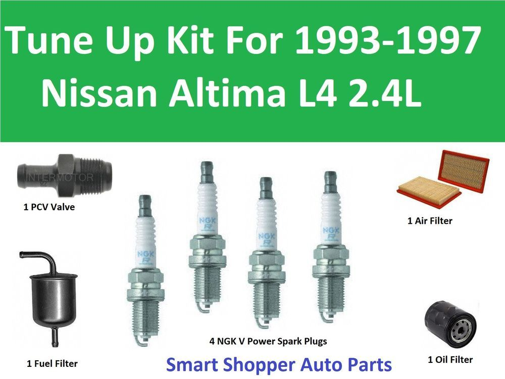 Details About Tune Up Kit For 1993 1997 Nissan Altima L4 Spark