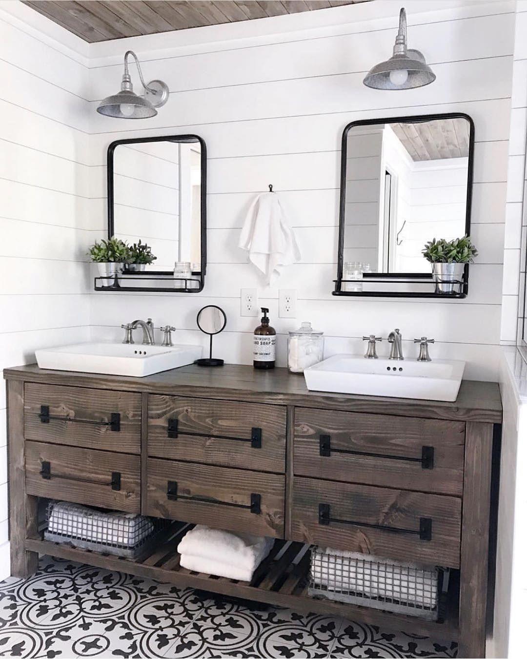 60 Gorgeous Bathroom Countertops Ideas That Make Your Bathroom Look Elegant - Millions Grace