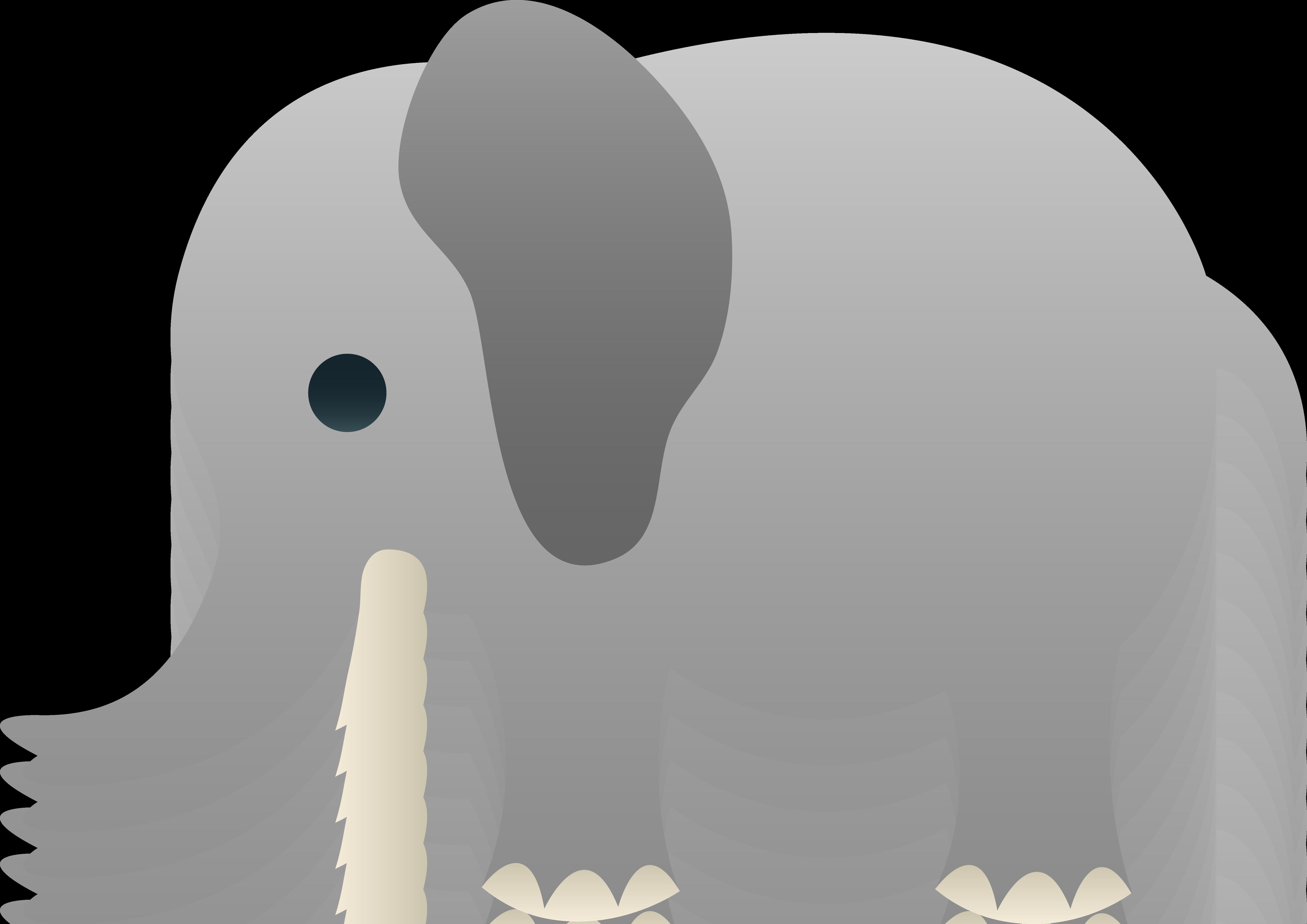 Cute Little Elephant Clip Art | Baby clip art, Elephant ...