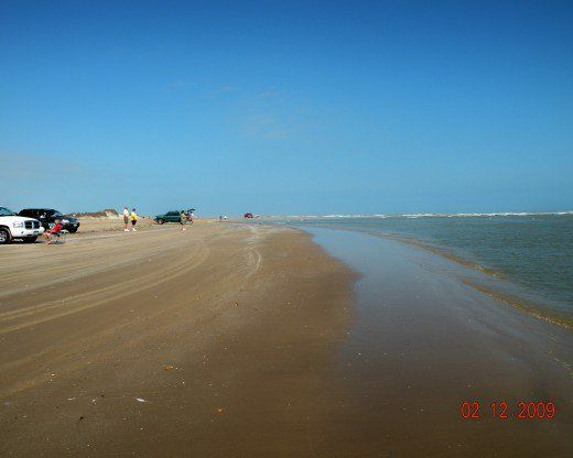 Free Beach Access At Boca Chica On South Padre Island Texas
