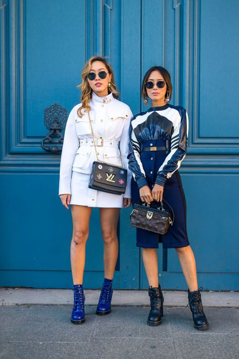 Dani Song and Aimee Song in Louis Vuitton