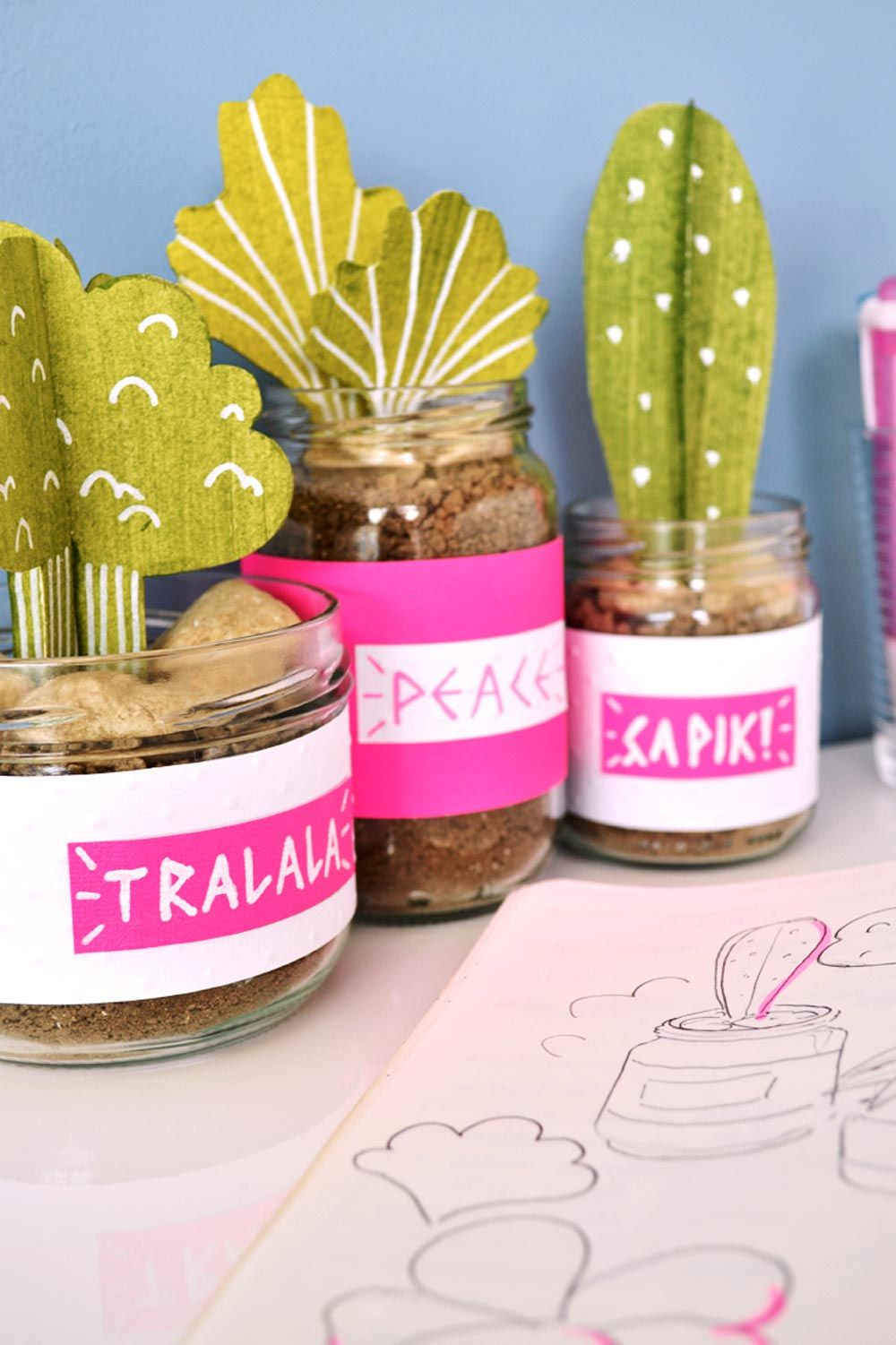 Truc A Faire Soi Meme diy plantes en papier à faire soi-même | occupations | pinterest