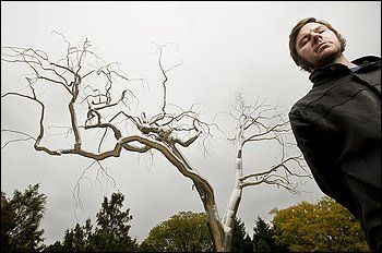 """""""Graft"""" by Roxy Paine at the National Gallery Sculpture Garden."""