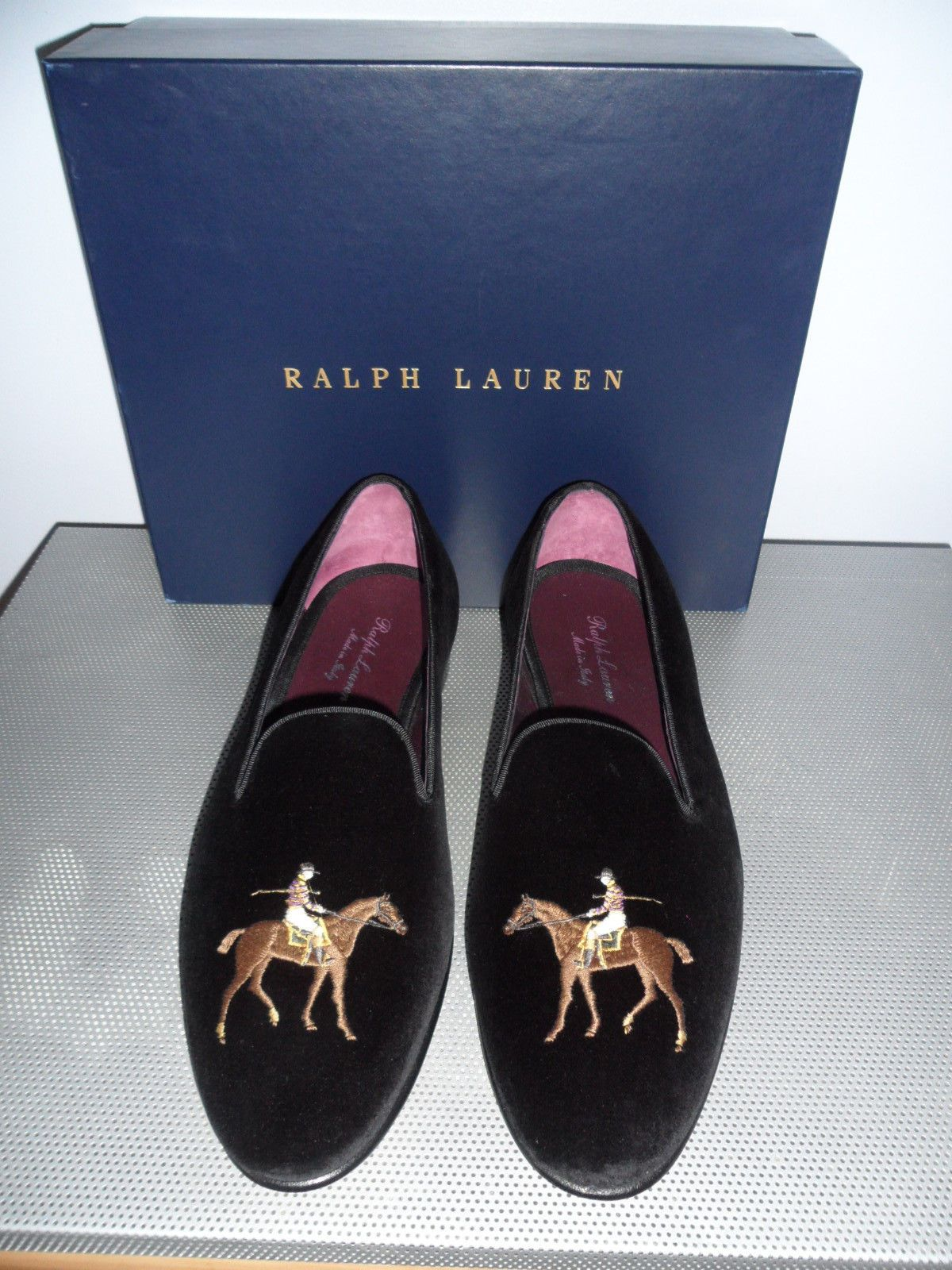 cee9515e29a1 Ralph Lauren Collis Velvet slipper...a must have for every preppy man  outhere