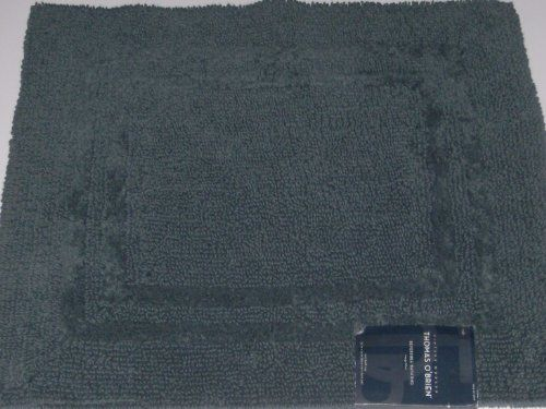 19 88 Thomas O Brien Image Blue Cotton Throw Rug Accent Bath Mat