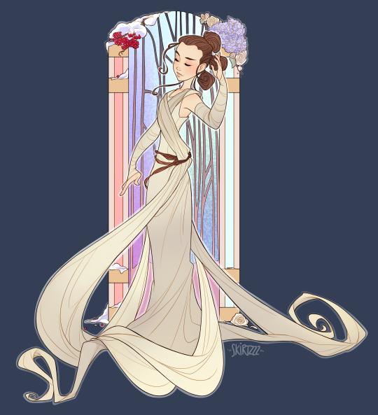 Rey by Skirtzzz Art