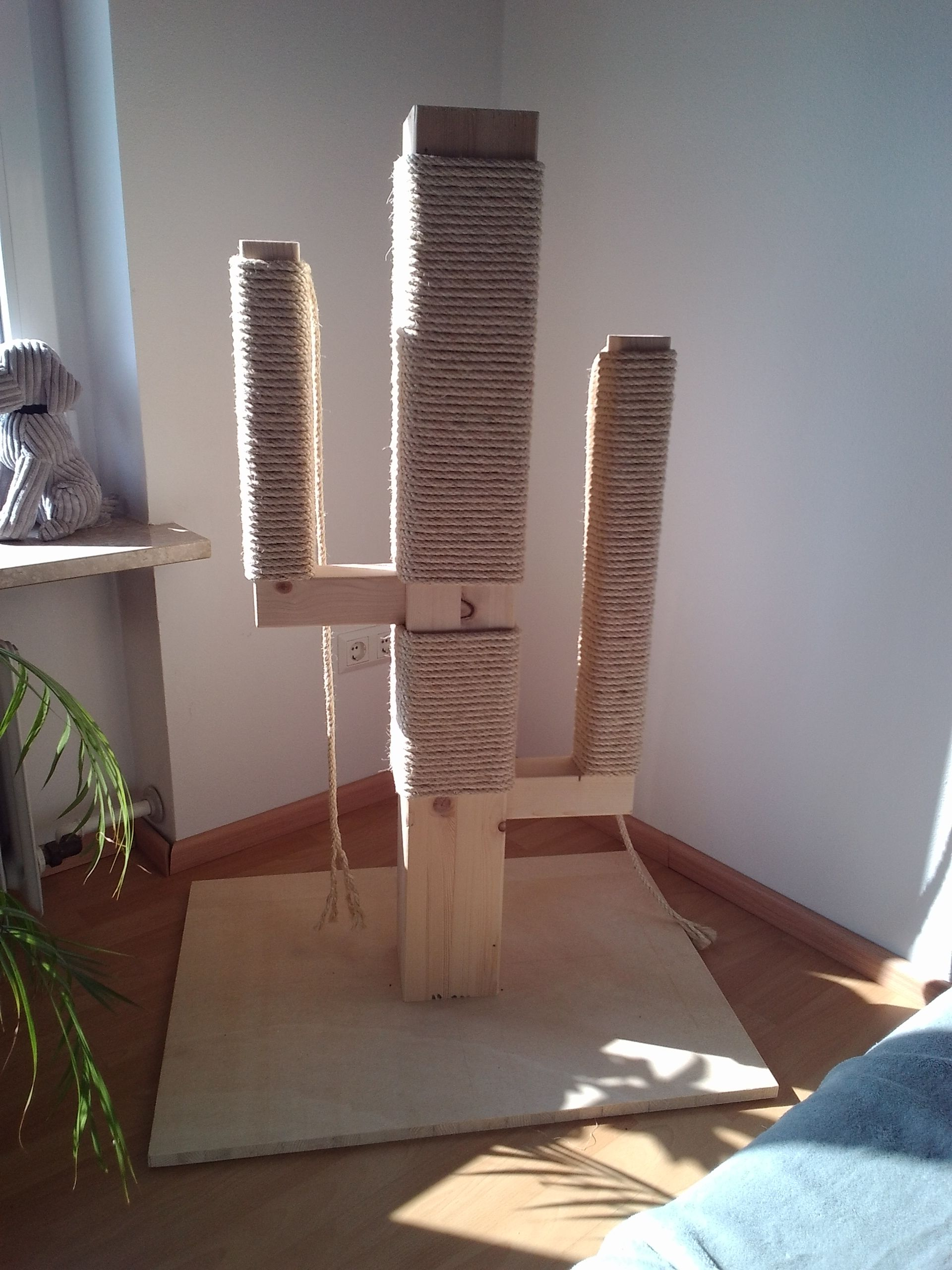 Scratch Tree (Cactus) for Cat's Custom Made by Mass®