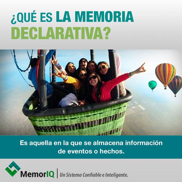 """Existen diferentes tipos de memoria, una de ellas es la """"Memoria declarativa"""" #MemorIQ Un Sistema Confiable e Inteligente. #MemoriaDeclarativa #Recuerdos"""