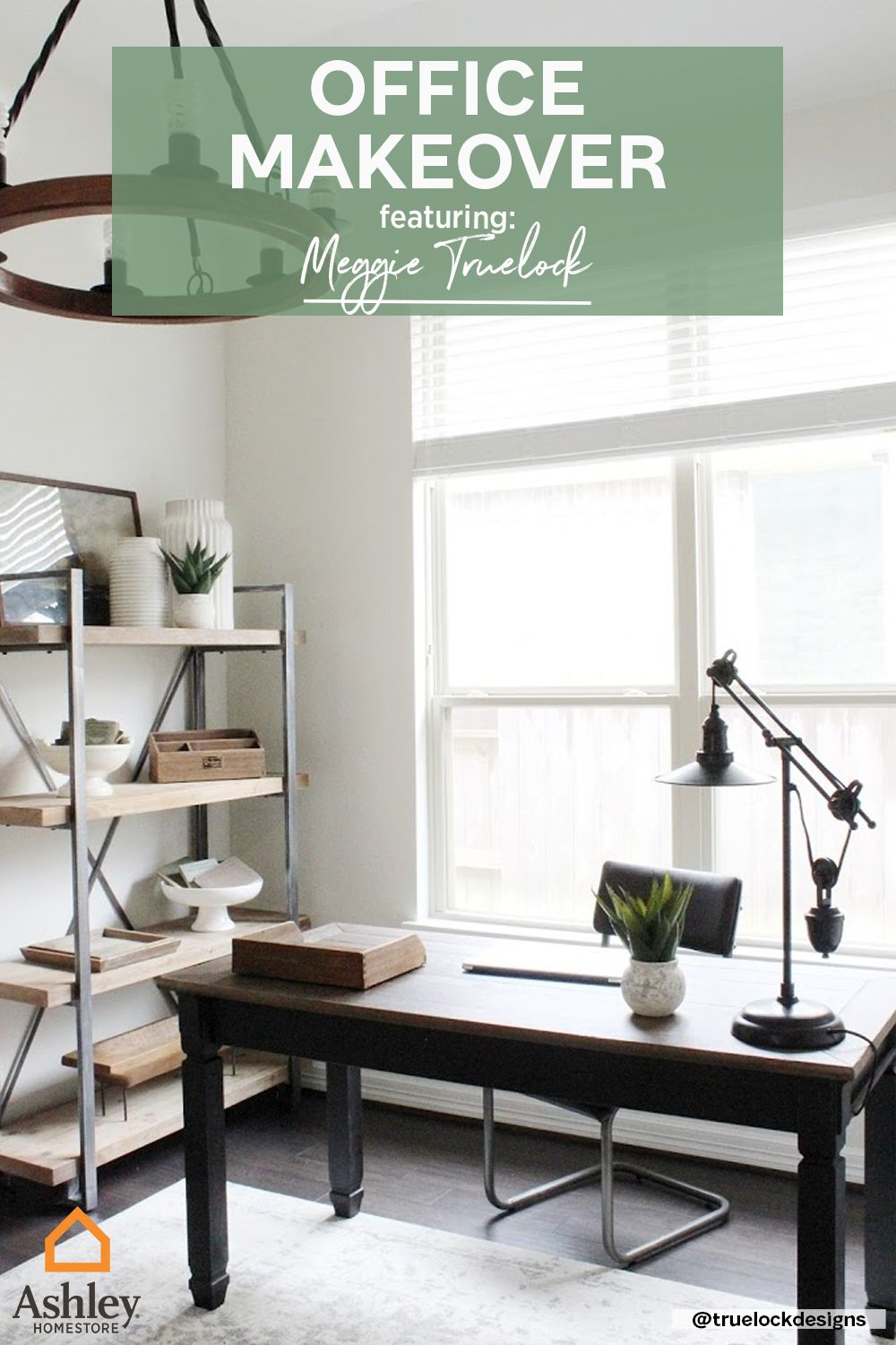 Meggie Truelock Creates Boss Babe Office Ashley Homestore Home Office Decor Home Office Space House Interior
