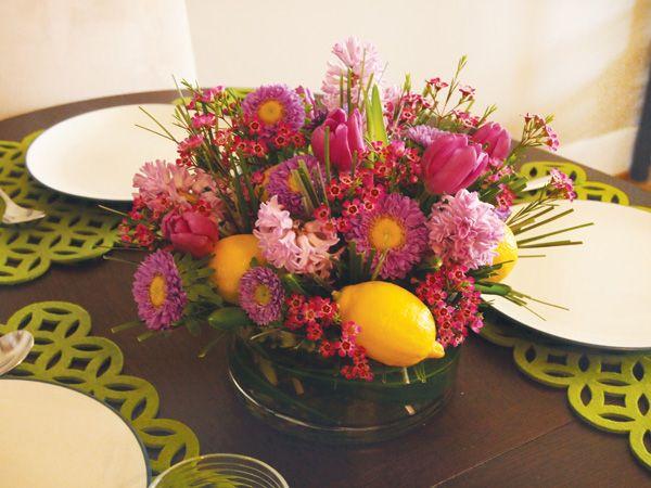 DIY Tutorial: Easter-Inspired Floral Centerpiece