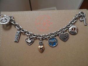 NEW-Brighton-Peace-Beatles-Commeratve-Charm-Bracelet-Collectors