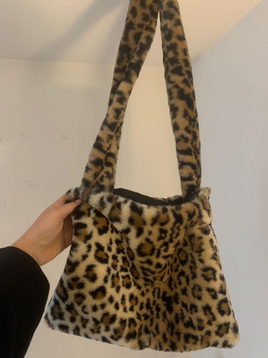 Handbag for Girls Little Leopard Shoulder Bag Women Tote Bag