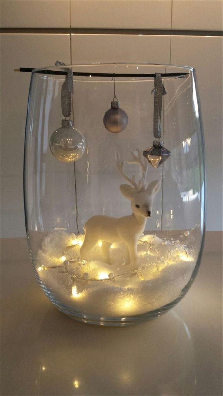 30 erschwingliche Weihnachtstischdekoration-Ideen 2019 #xmasdecorations