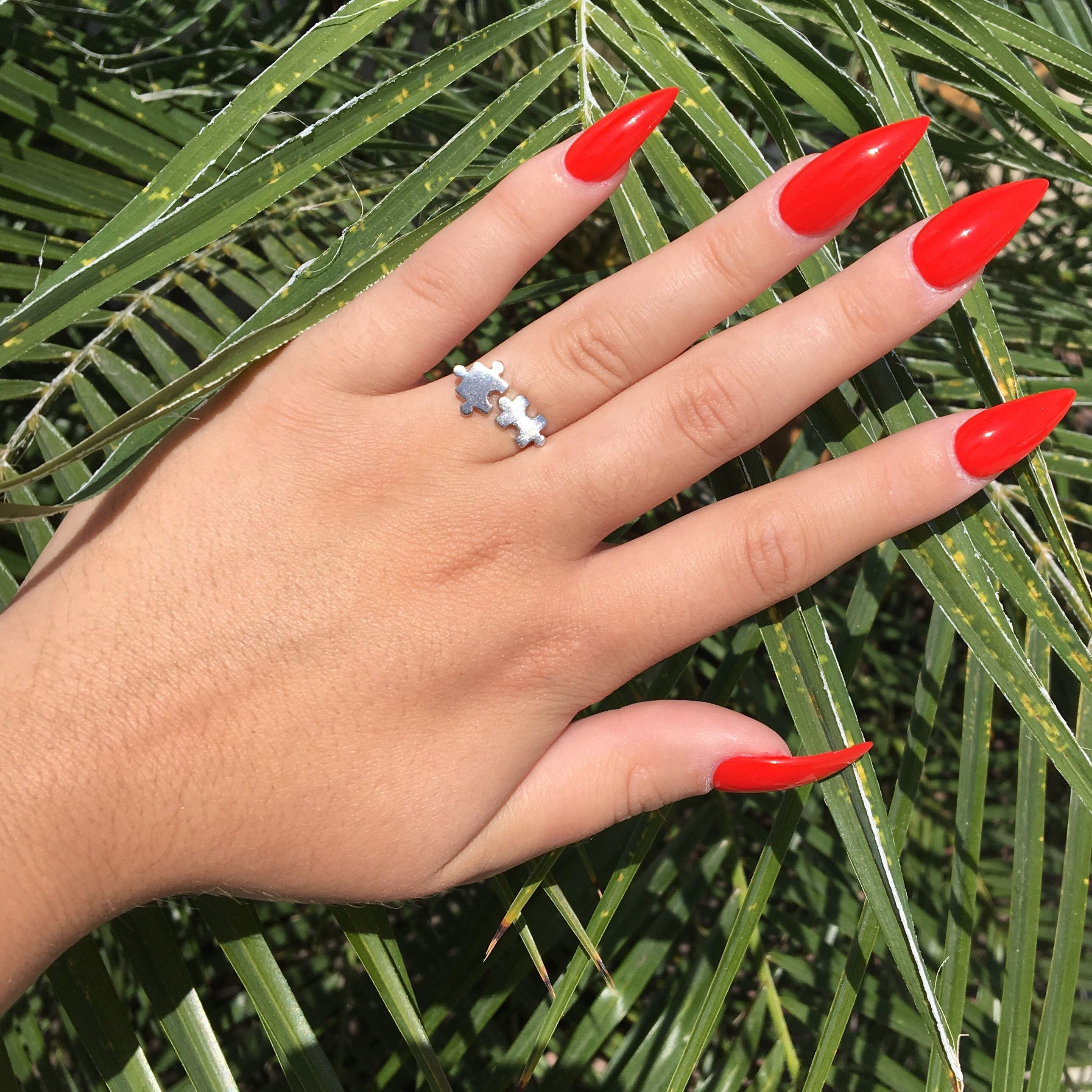 Red Stiletto Nails Simple Nail Designs Pinterest Red Stiletto