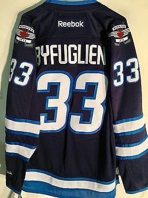 Hockey-NHL 24510  Reebok Premier Nhl Jersey Winnipeg Jets Dustin Byfuglien  Navy Sz Xl c99a68a2e