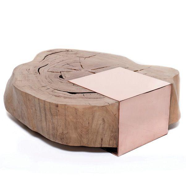 Product Large Coffee Tables Pinterest Möbel, Holztisch und - couchtisch aus massivholz 25 designs