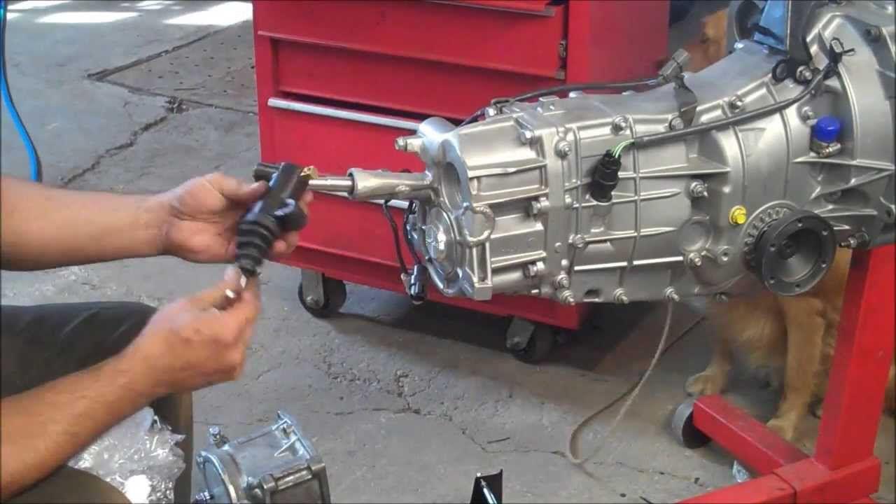 Subaru 5 speed transmission into a vanagon part1