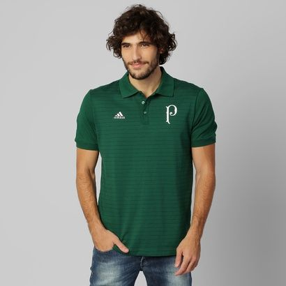 0688bd9b2a Camisa Polo Adidas Palmeiras PR - Mundo Palmeiras
