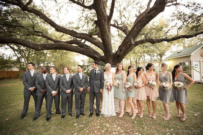 Wedding Grey And Blush Champagne Google Search