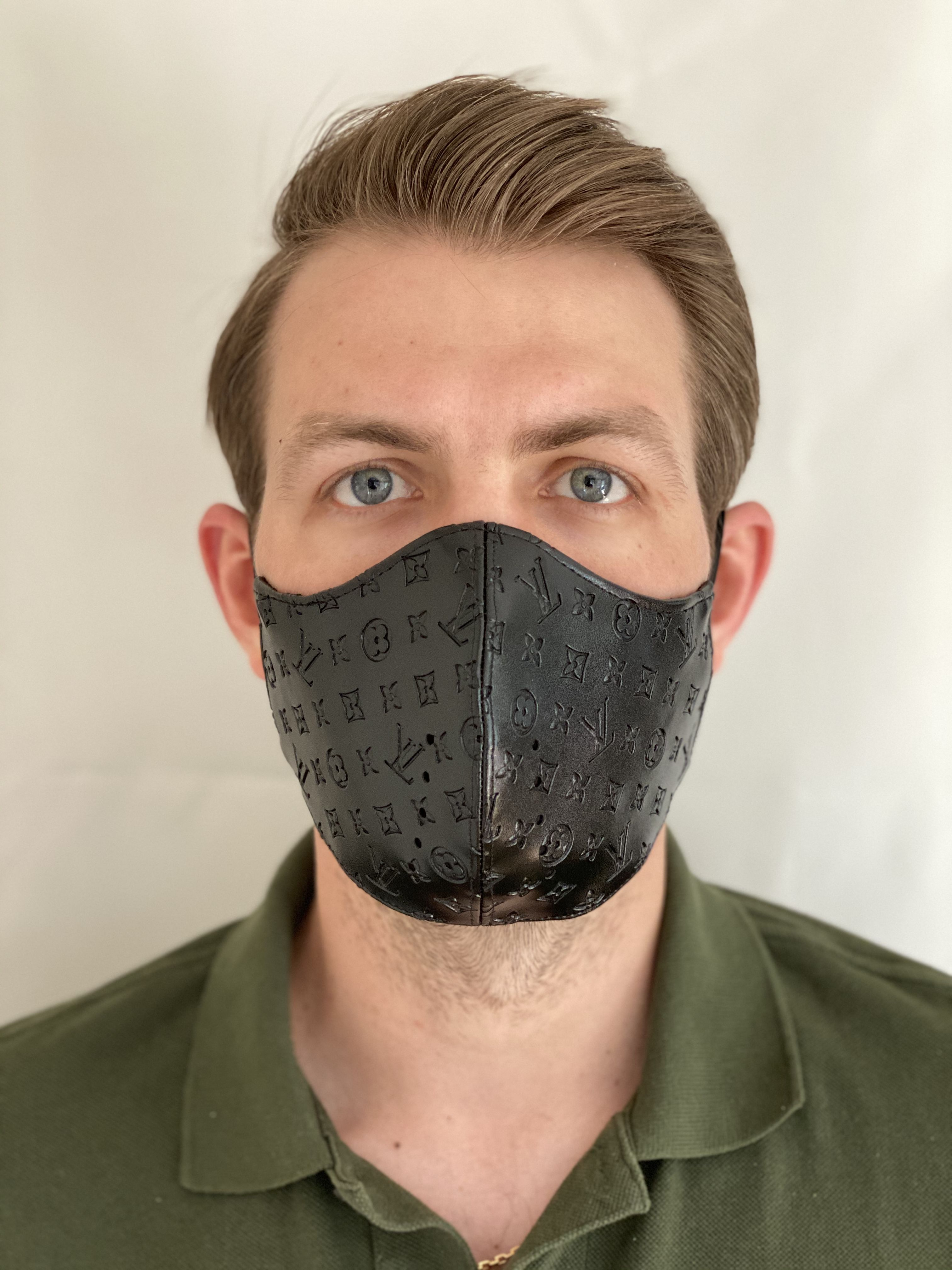 Urbanmood handmade mask. Designer facemask with double