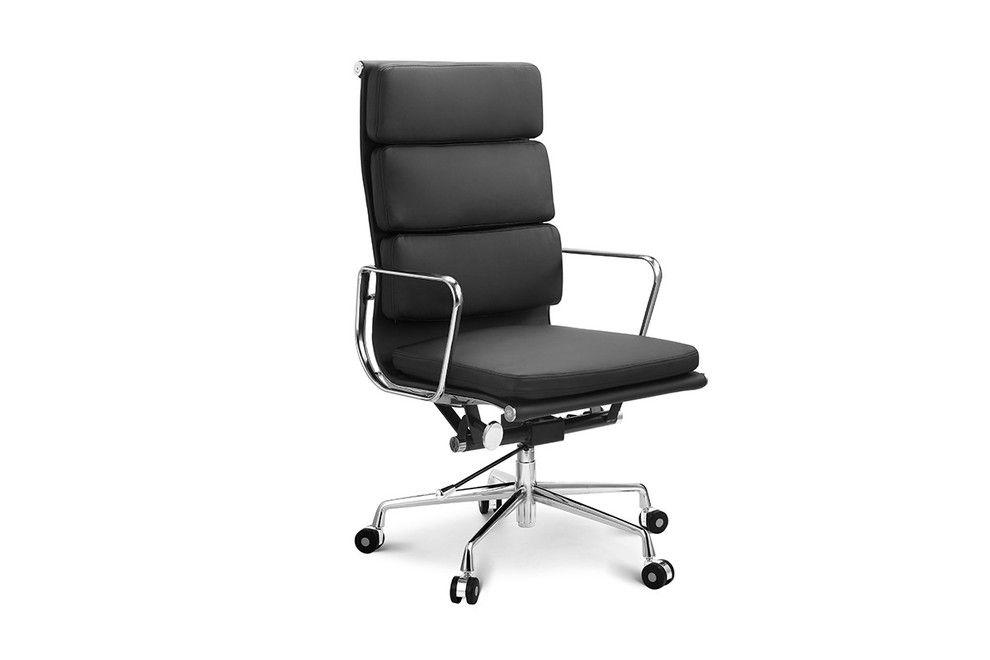 Excellent Ovela Executive Eames Replica High Back Padded Office Chair Beatyapartments Chair Design Images Beatyapartmentscom