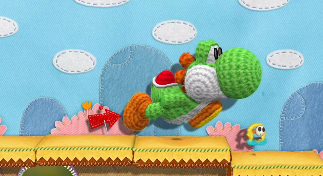 Perhaps the most surprising of today's announcements during the Nintendo Direct – a sequel to Yoshi's Story! That's right! Yoshi, the loveable egg-throwing dinosaur who hasn't had a console title since 1998 is getting his own game right at home on the Wii U! Developed by the team behind Kirby's Epic Yarn and the director of Yoshi's Story I loved Yoshi's story!!!