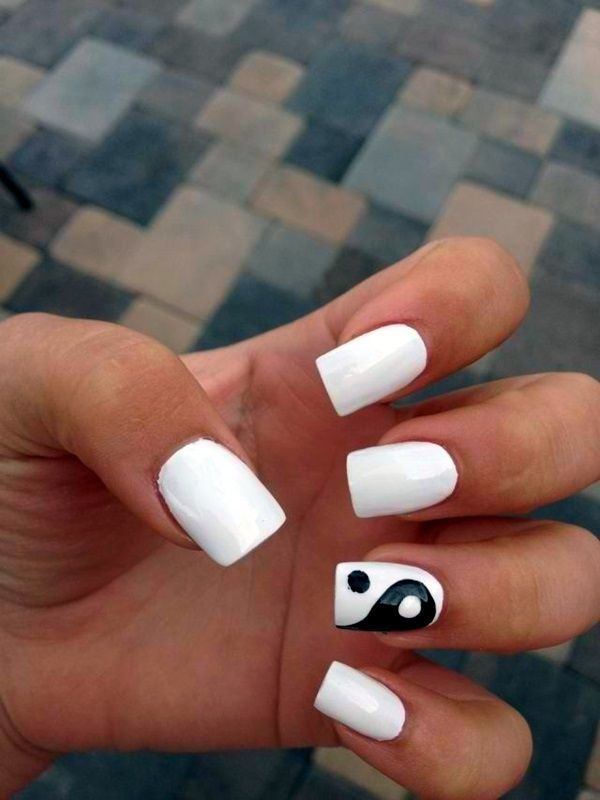 Latest 45 Easy Nail Art Designs For Short Nails 2016 Manicura De Unas Unas Gelificadas Unas De Gel