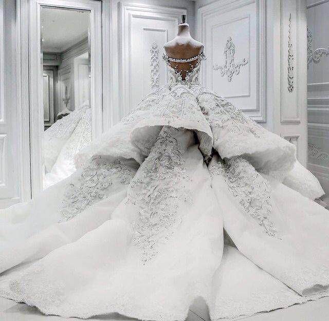 Jacy Kay Couture wedding gown jαɢlαdy Luxury Beauty - http://amzn.to/2jx73RT