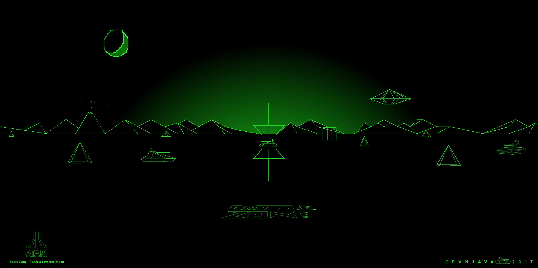 Atari Battle Zone Arcade Game Wallpaper Classic Video Games Card Games Retro Arcade Games