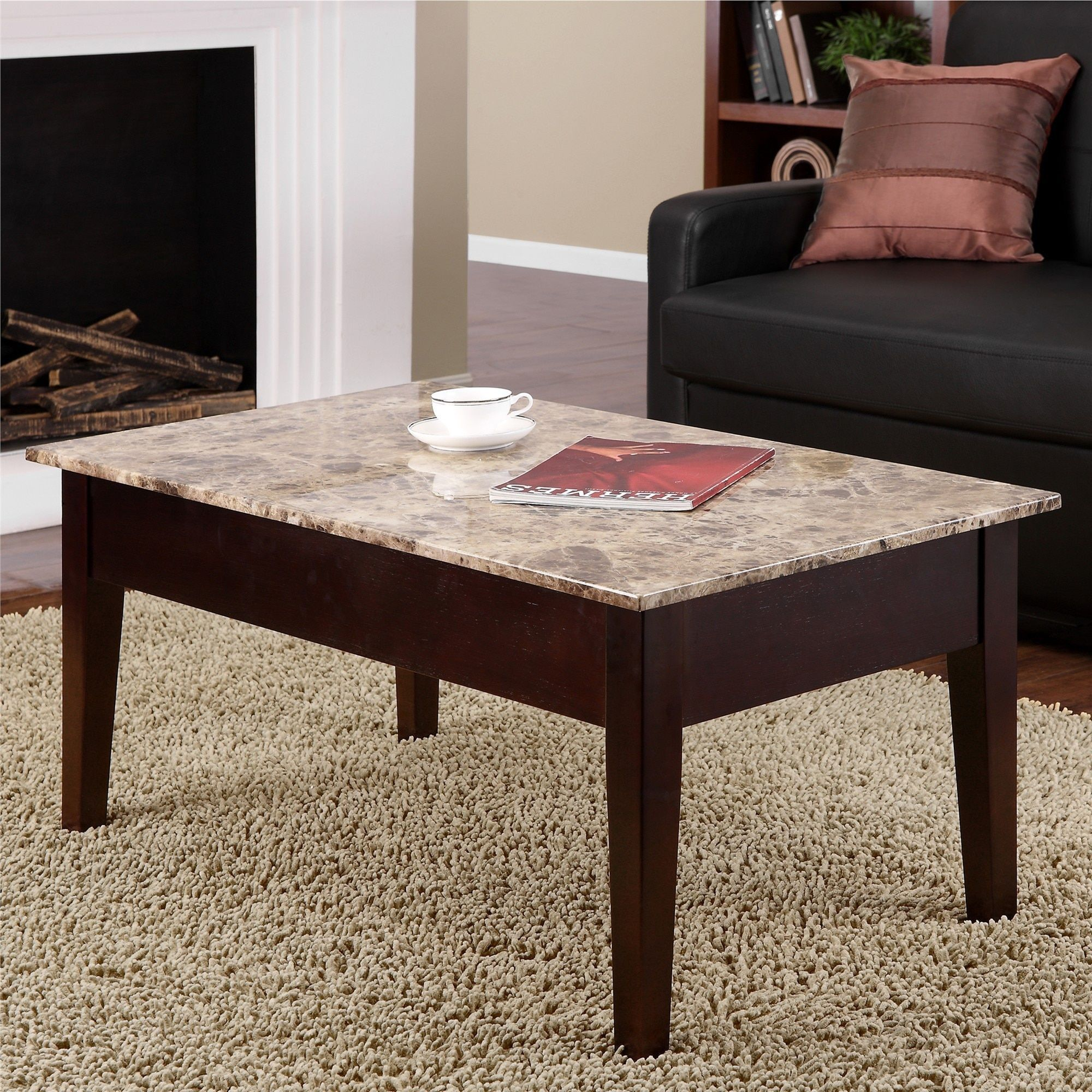 Overstock Com Online Shopping Bedding Furniture Electronics Jewelry Clothing More Coffee Table Coffee Table Wood Marble Coffee Table [ 2000 x 2000 Pixel ]