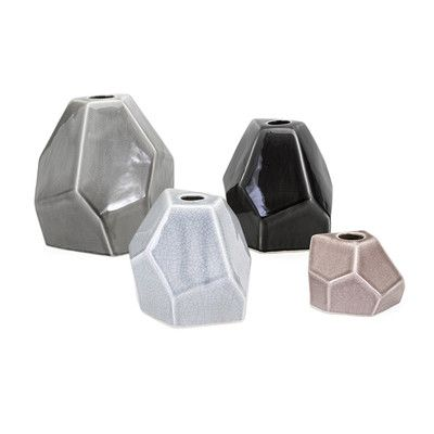 Mercury Row 4 Piece Lox Vase Set