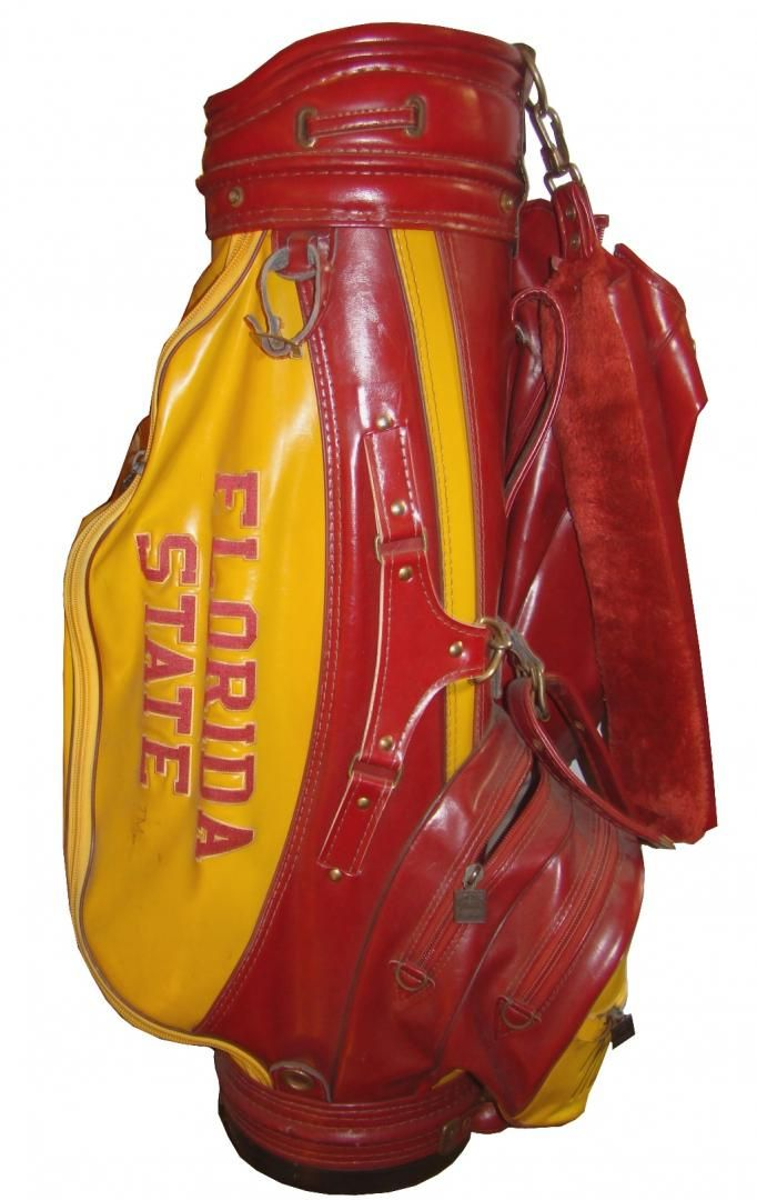 Vintage Florida State University Team Golf Bag