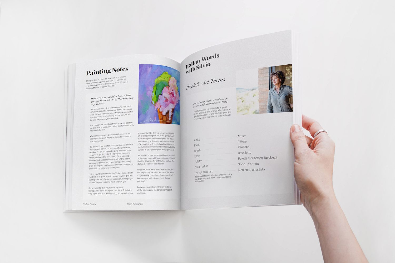 Timeless Tuscany PDF Document Design & Illustration for