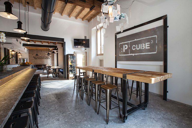 Pcube, Trezzo sull\'Adda, 2015 - iarchitects | Café & Restaurant ...