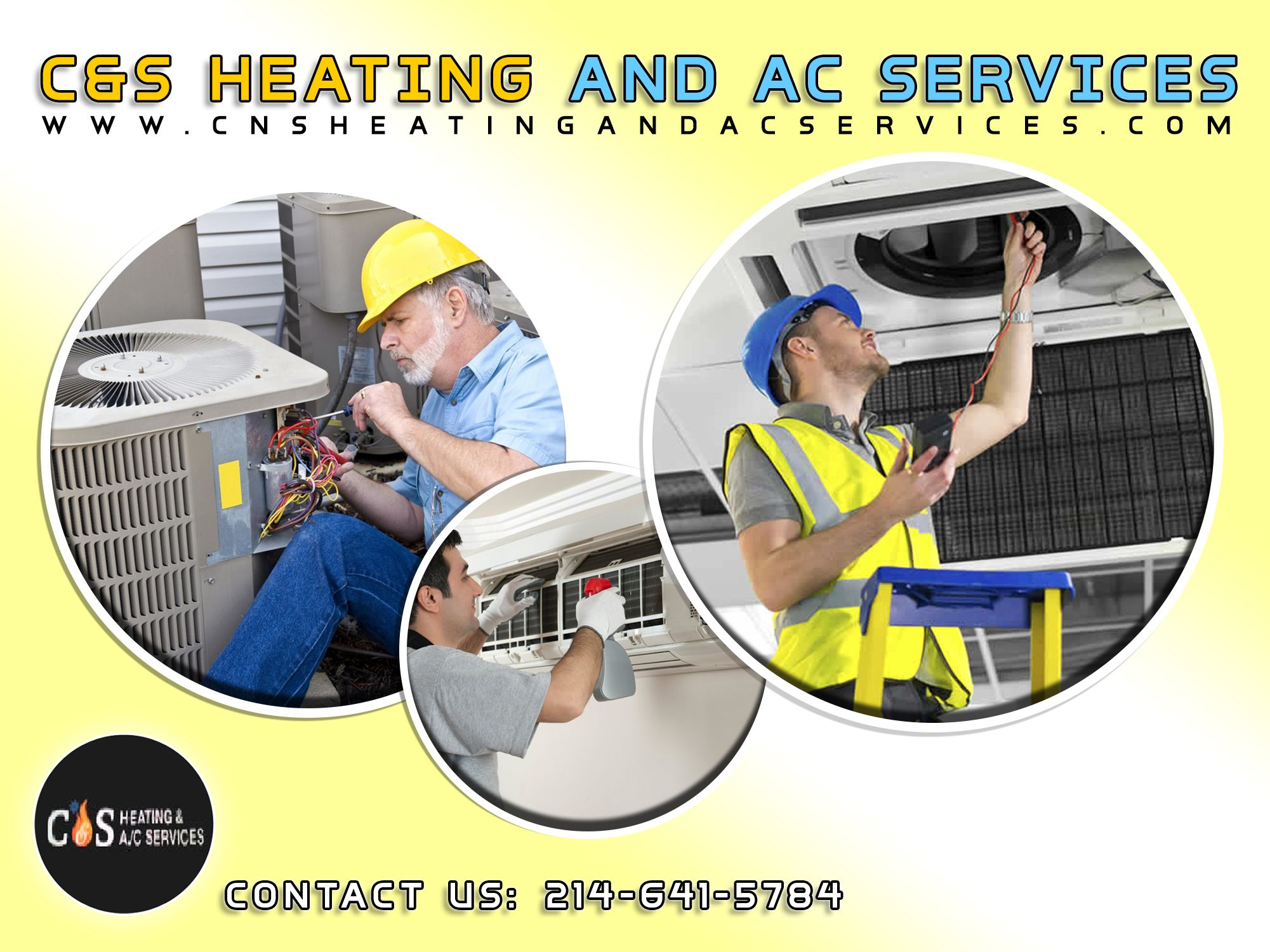 C S Heating And Ac Services Proudly Offer Air Condition Heating And Indoor Air Quality Service And Installation T Hvac Services Ac Service Ac Repair Services