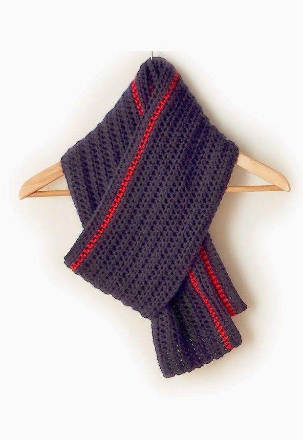 Cómo hacer un bufanda unisex: ¡Protégete del frío! | Patrones ...