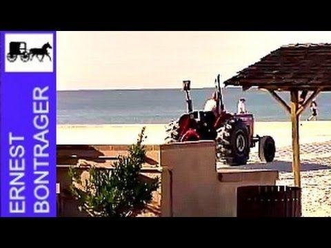 Massey Ferguson Tractor Basking in Sun And Sand
